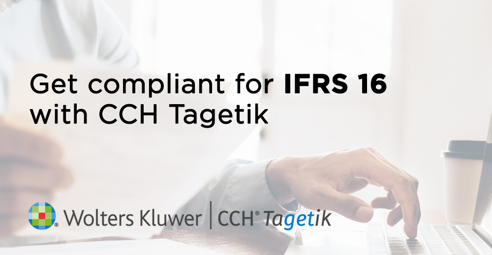 Get compliant for IFRS 16 with CCH Tagetik