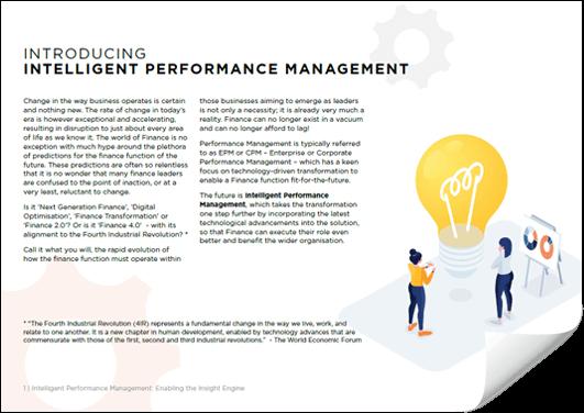 White paper: Intelligent Performance Management