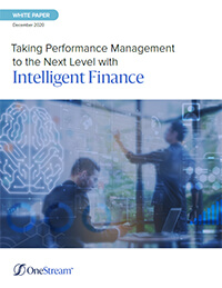OneStream whitepaper: Taking performance management to the next level with Intelligent Finance