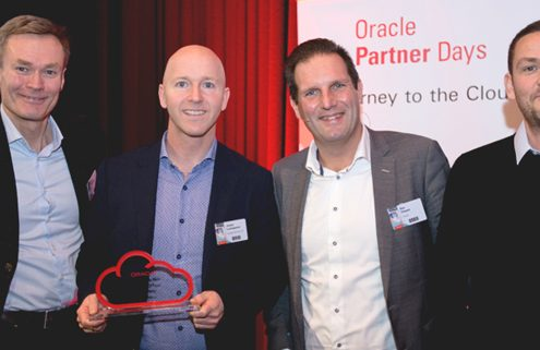 Oracle Partner of the Year Cloud First