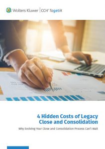 CCH Tagetik whitepaper: 4 hidden costs of legacy close and consolidation